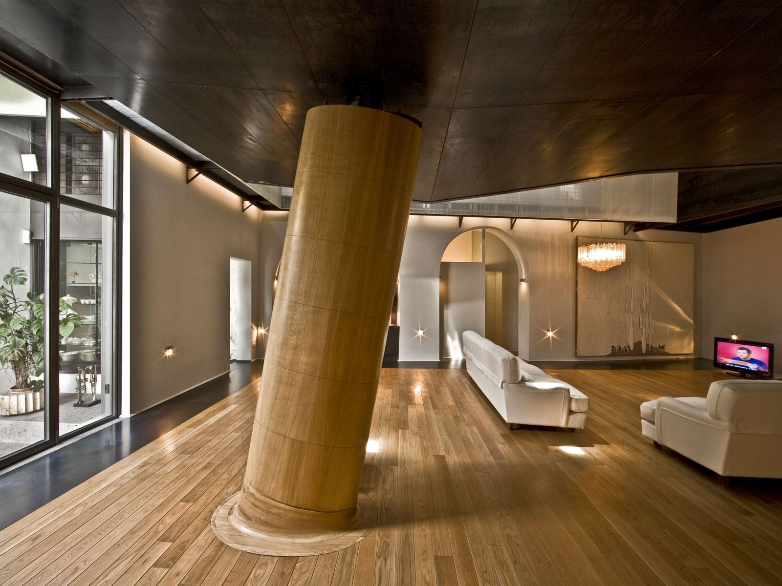 Stable Building Transformed into Stylish Apartment in Trastevere, Rome