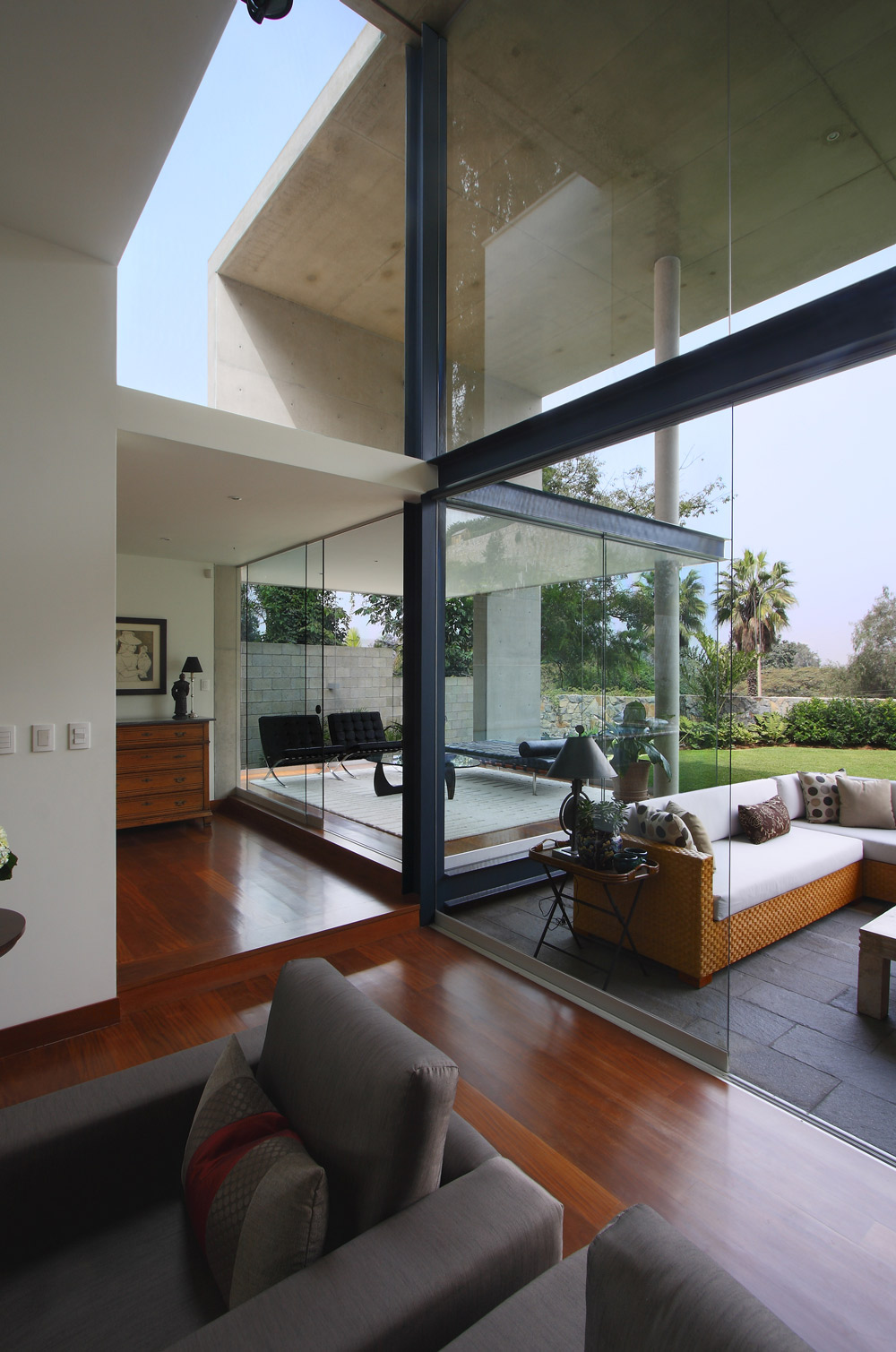 Living Space, Family Home in Lima, Peru