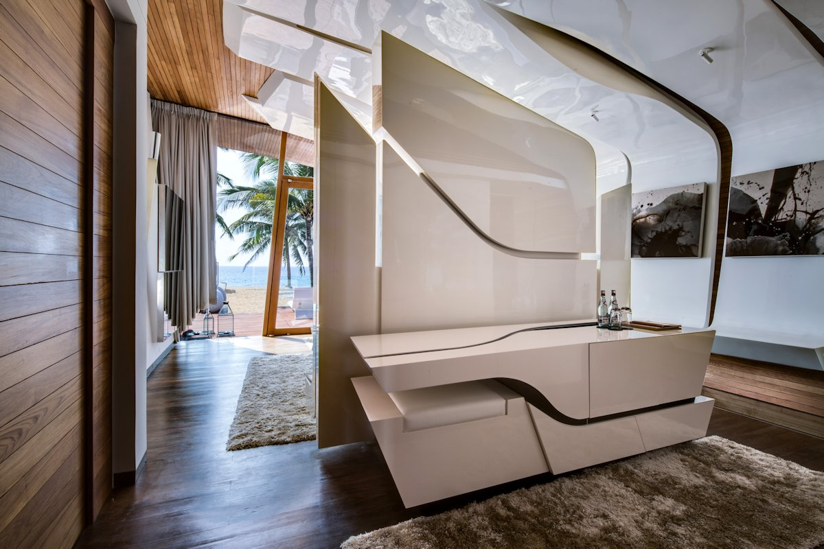Modern Stylish Bedroom, Iniala Beach House in Phuket, Thailand