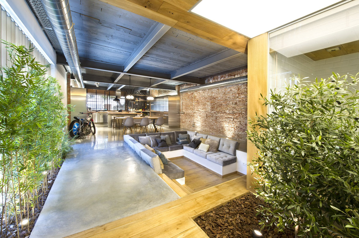 Open Plan, Loft Style Home in Terrassa, Spain