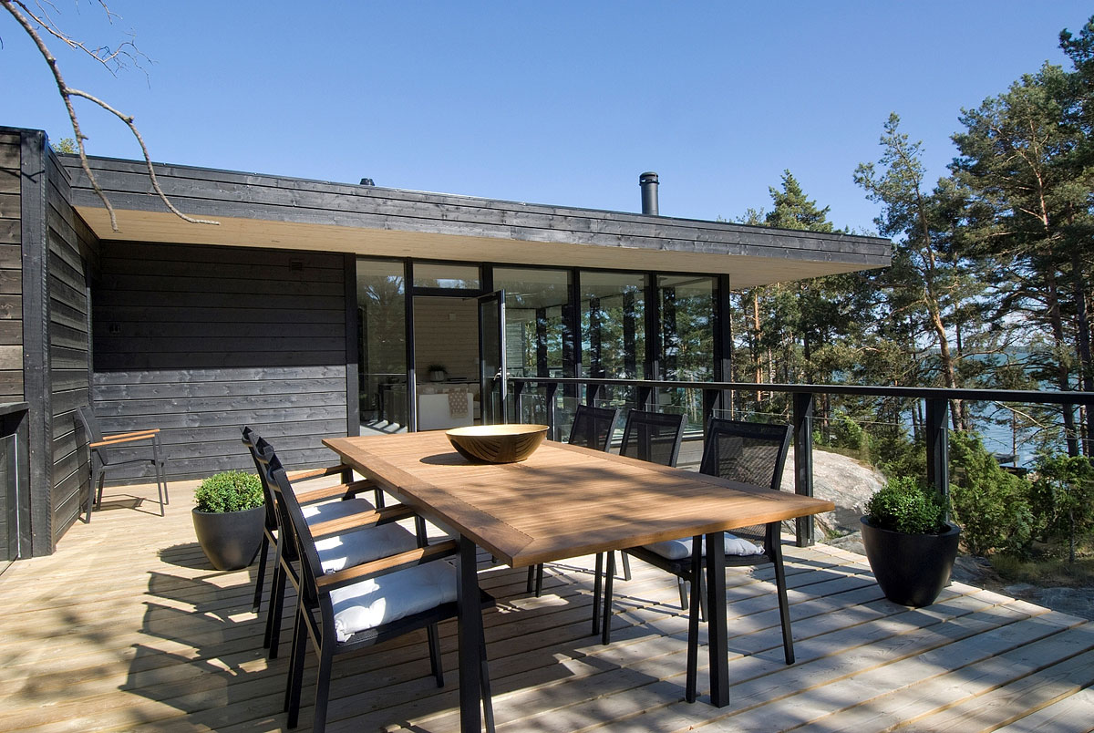 Outdoor Dining, Terrace, Vacation Home in Merimasku, Finland