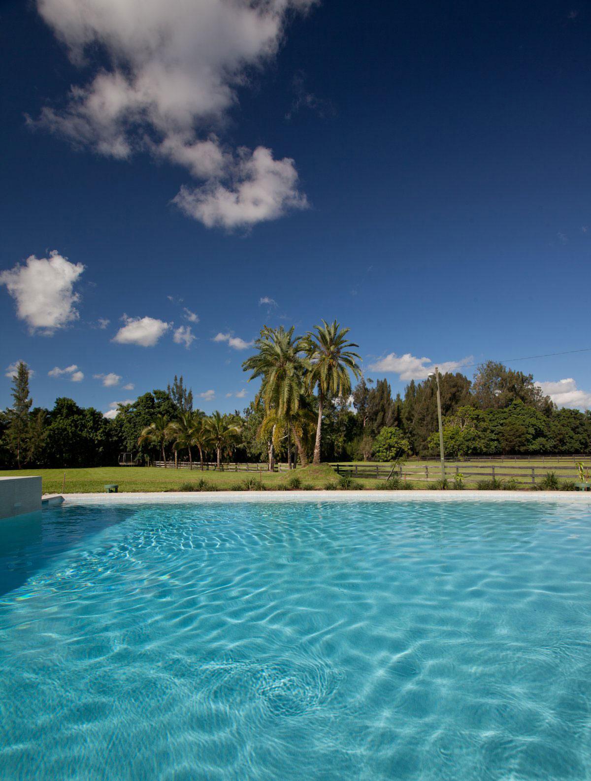 Pool, Modern Retreat in Davie, Florida