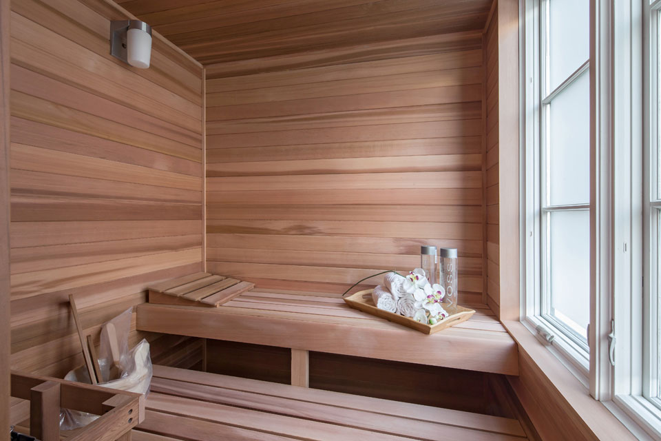 Sauna, Penthouse Apartment in TriBeCa, New York City