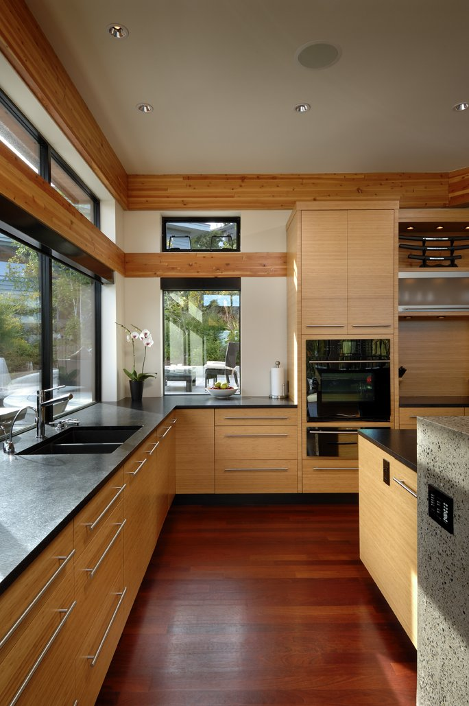 Sink, Kitchen, Modern Home in Victoria, British Columbia