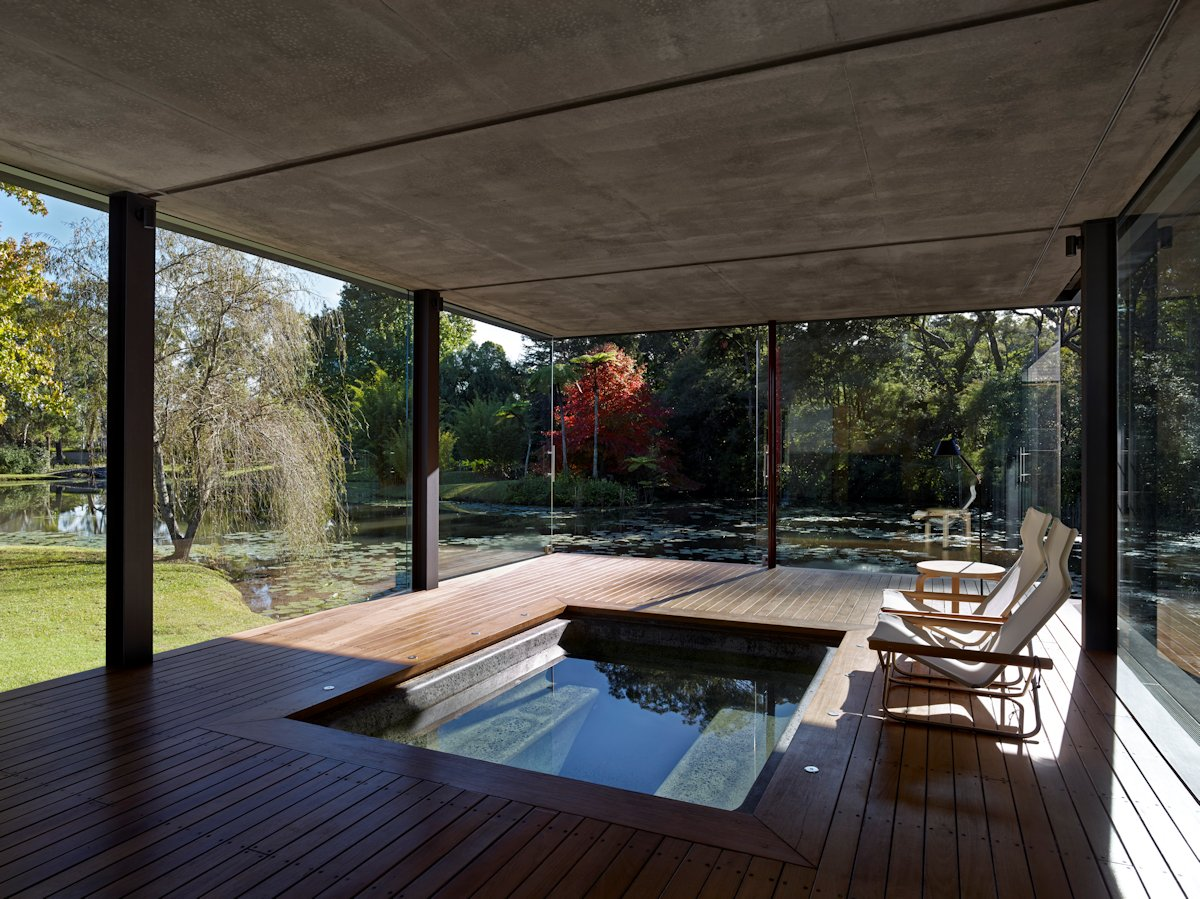 Spa, Jacuzzi, Hot Tub, Glass Pavilion in Somersby, Australia