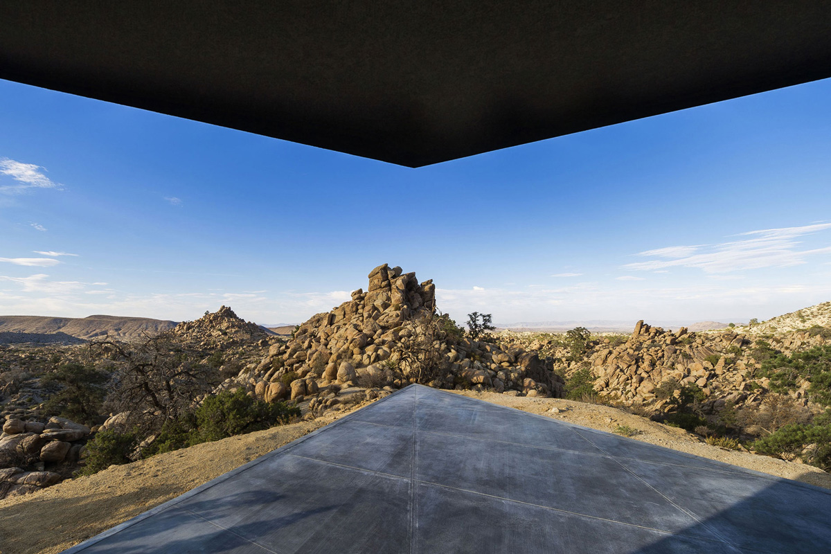 Views from Terrace, Mountain Home in Twentynine Palms, California