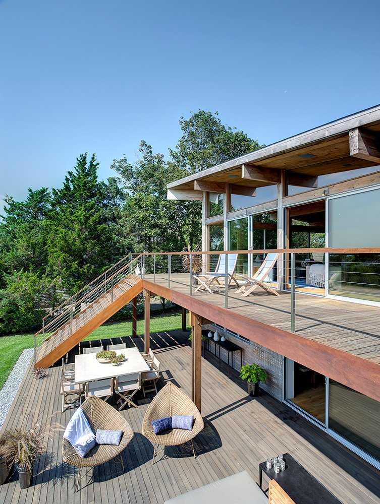 Balcony, Terrace, Outdoor Furniture, Home Addition, Southampton, New York