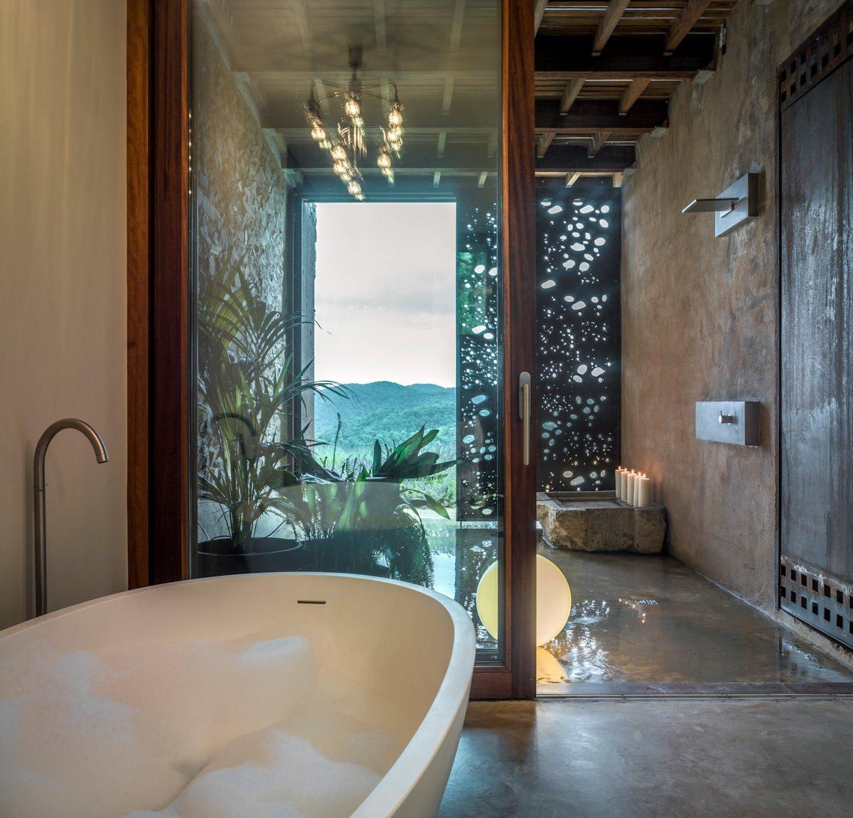 Bath, Rustic Bathroom, Catalan Farmhouse, Girona, Spain