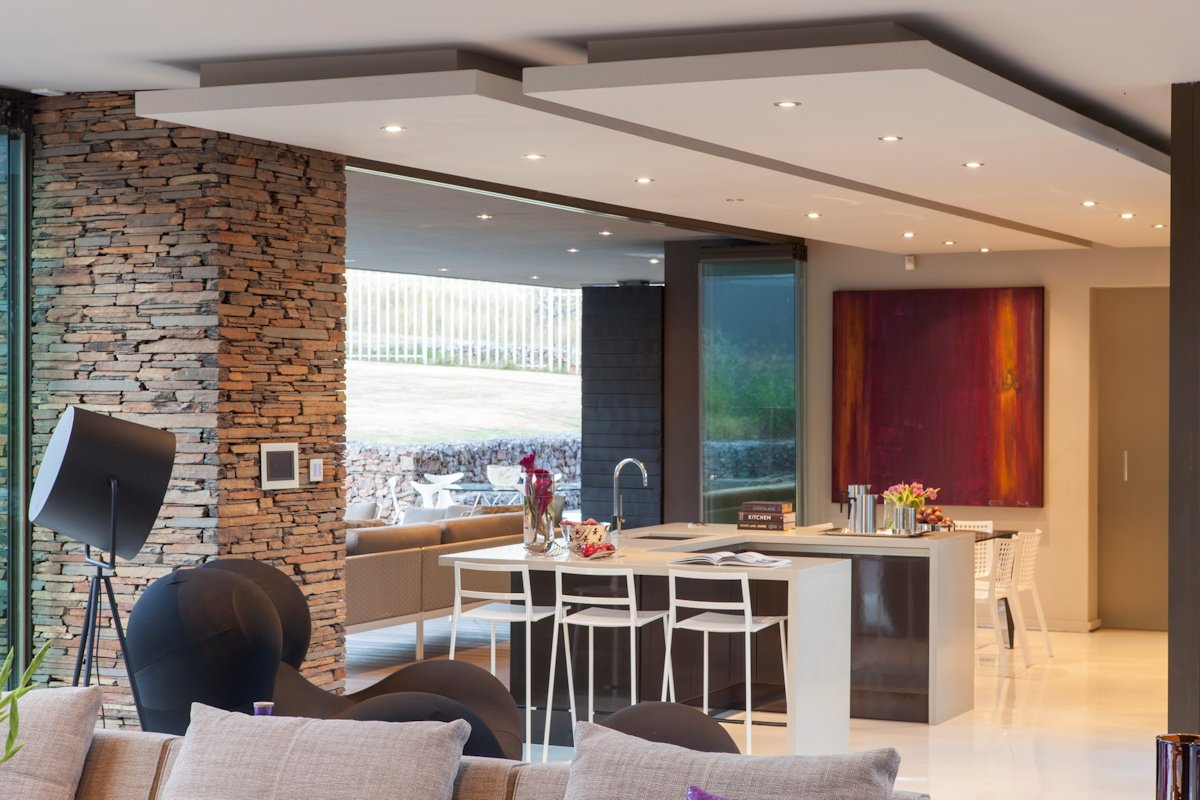 Breakfast Bar, Kitchen Island, House in Johannesburg