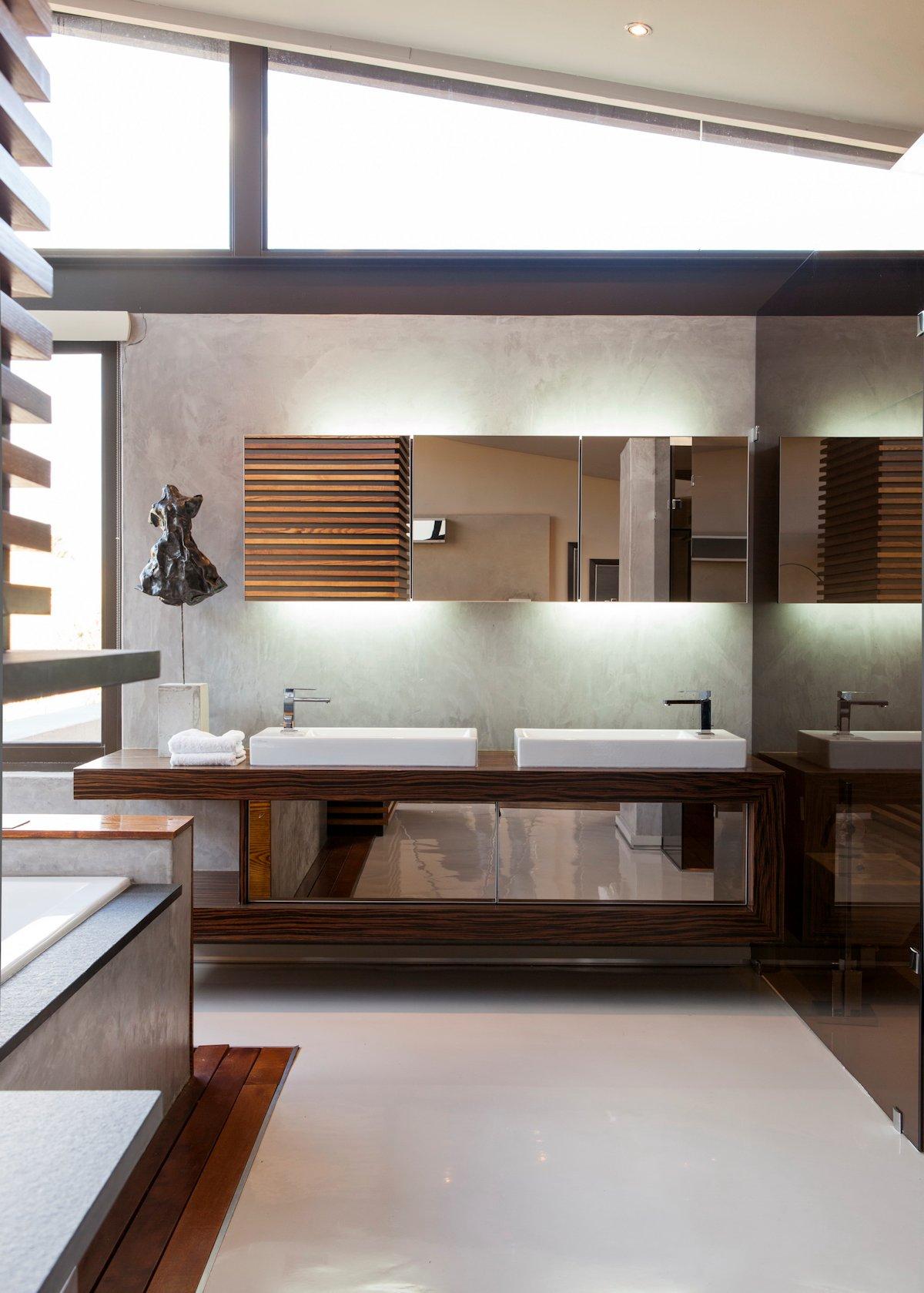 Double Sinks, Mirror, Bathroom, House in Johannesburg