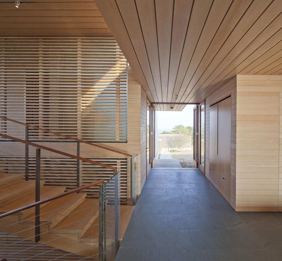 Entrance Hall, Home in Edgartown, Massachusetts