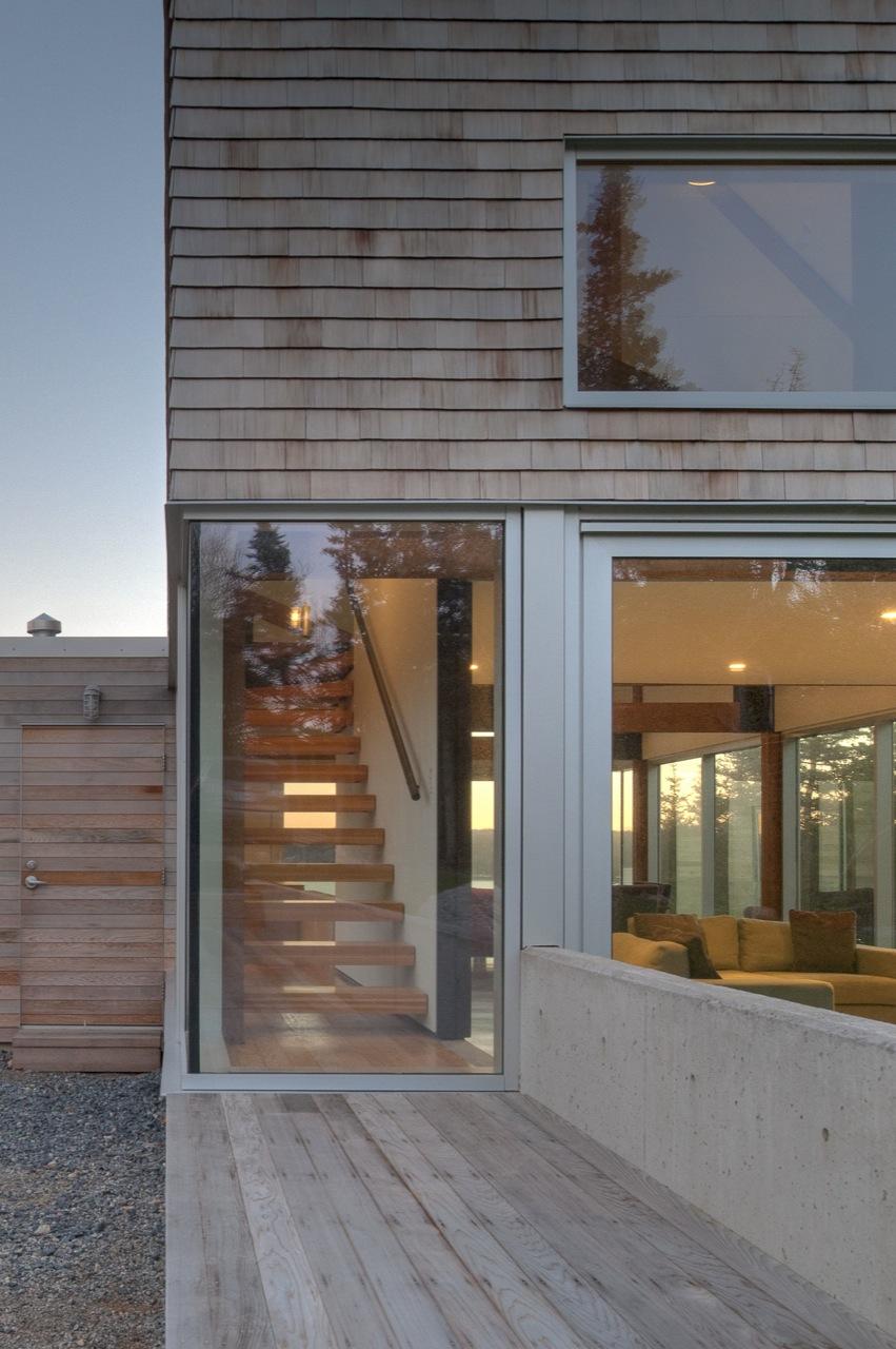 Entrance, House in Prospect, Nova Scotia