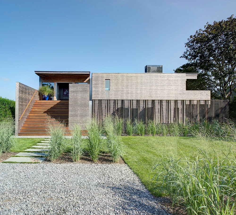 Front Garden, Stairs, Entrance, Home Addition, Southampton, New York