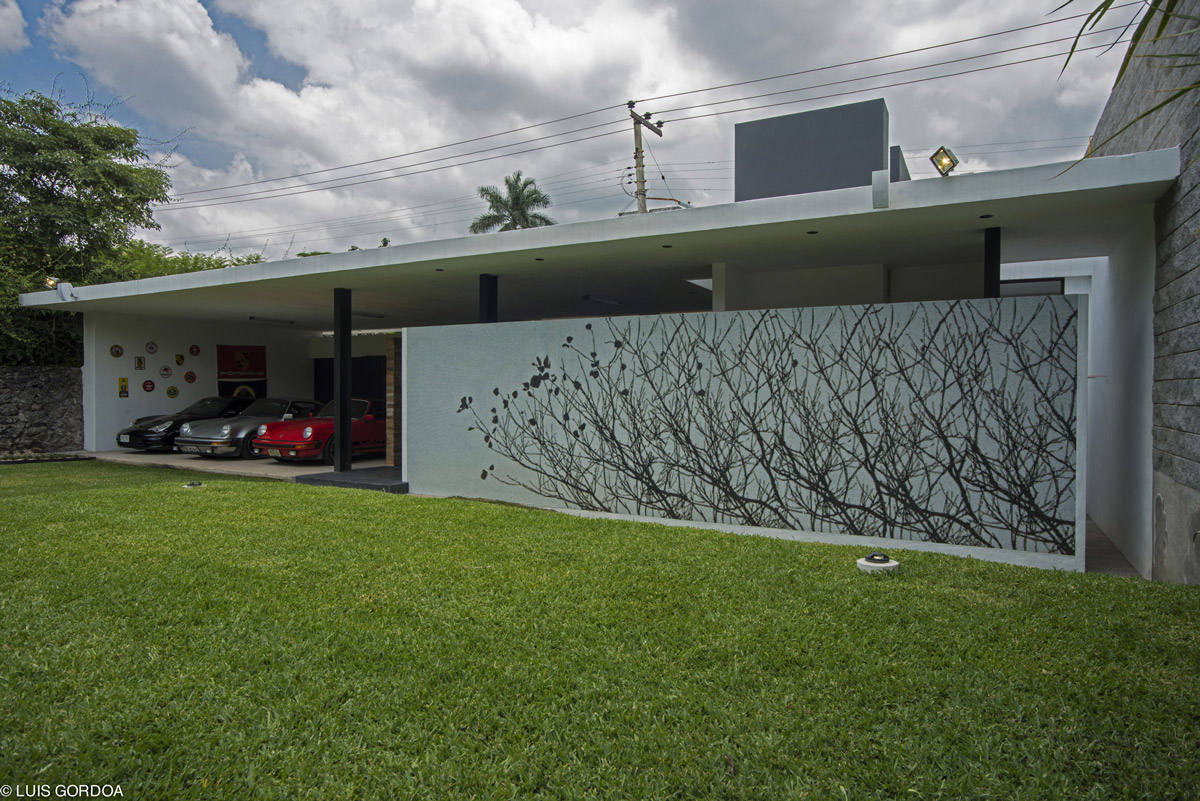 Garage, Car Port, Weekend Retreat in Cuernavaca, Mexico