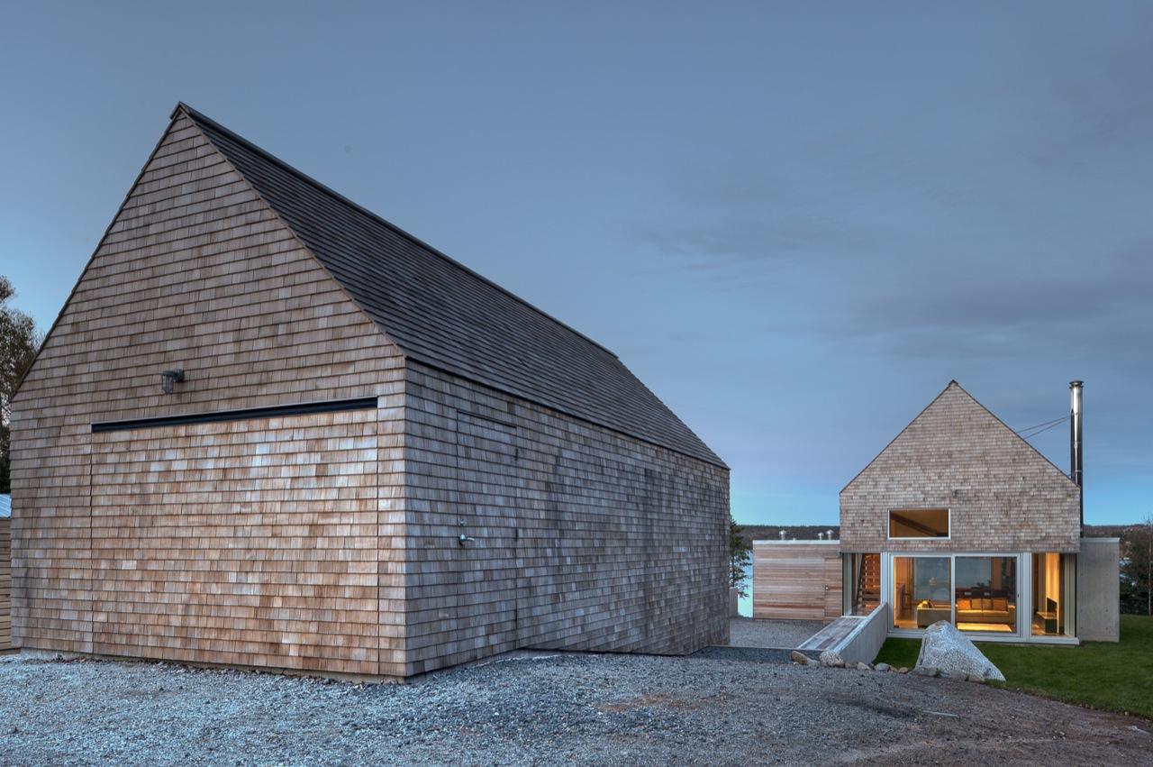 Garage, Front Facade, House in Prospect, Nova Scotia