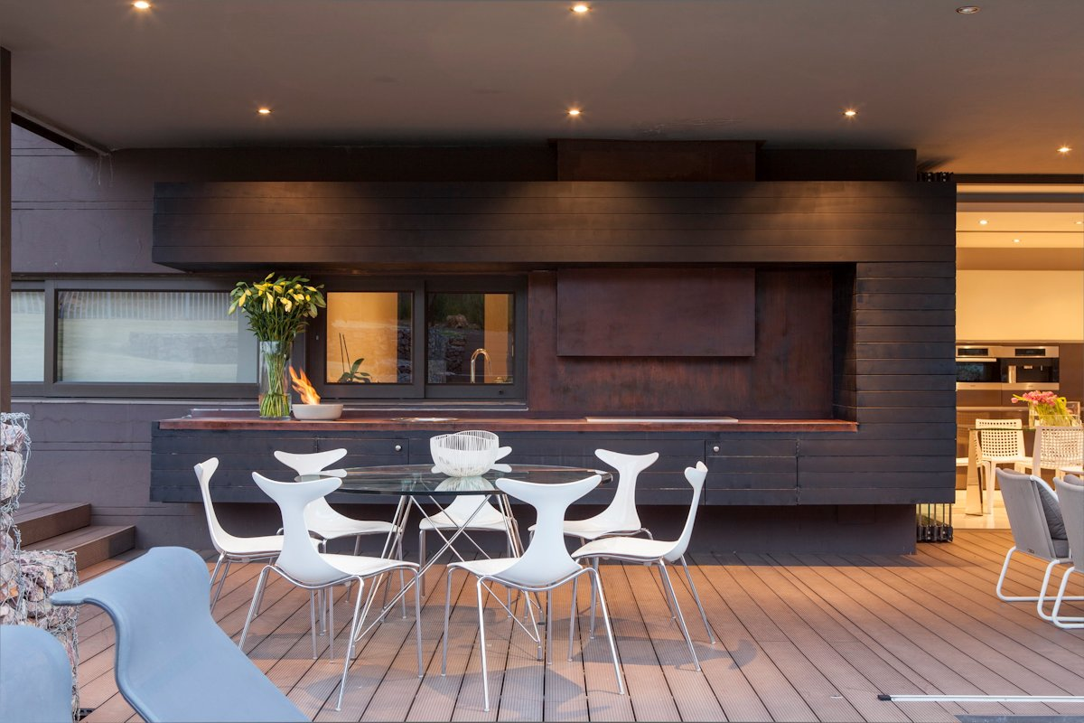 Glass Dining Table, Kitchen, House in Johannesburg