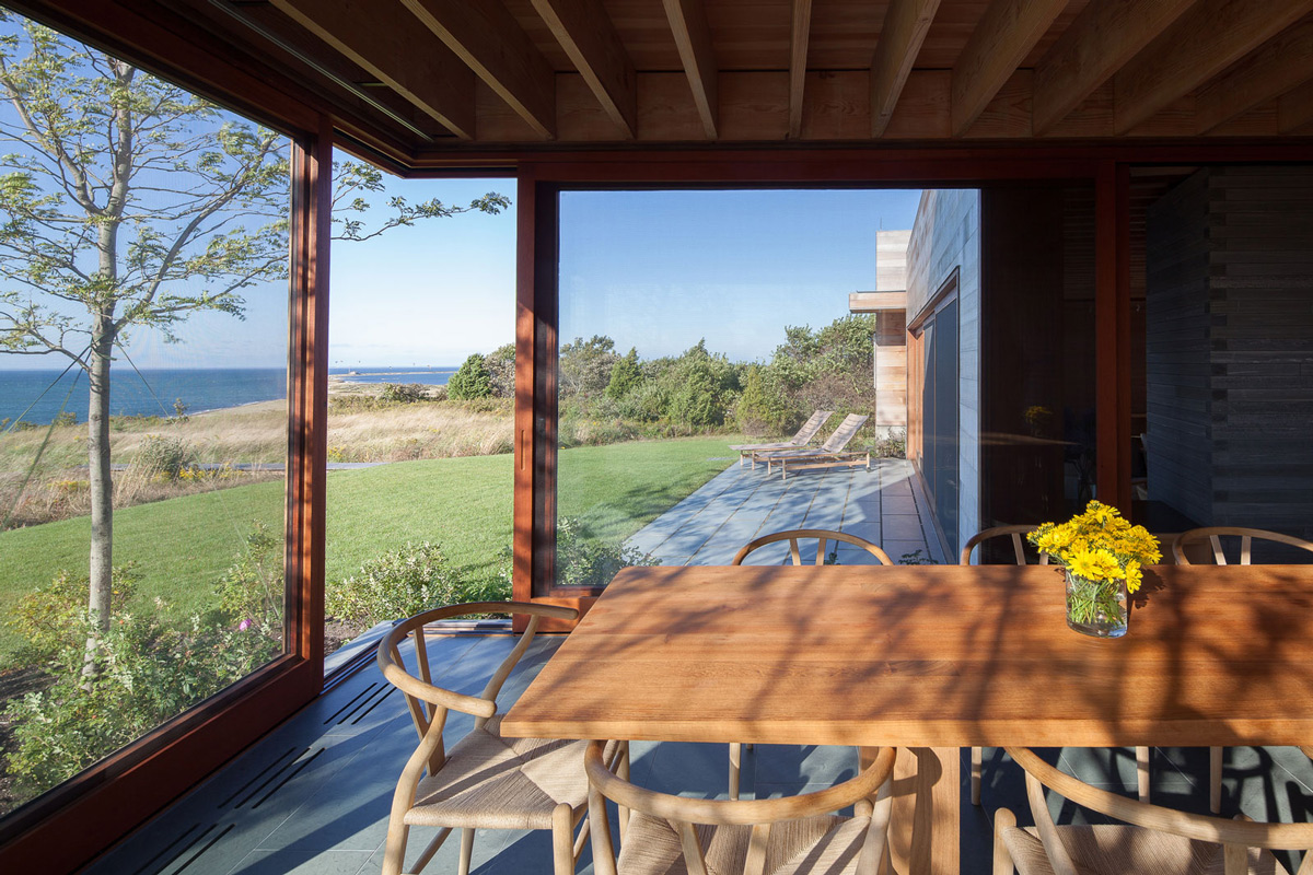 Glass Sliding Doors, Home in Edgartown, Massachusetts