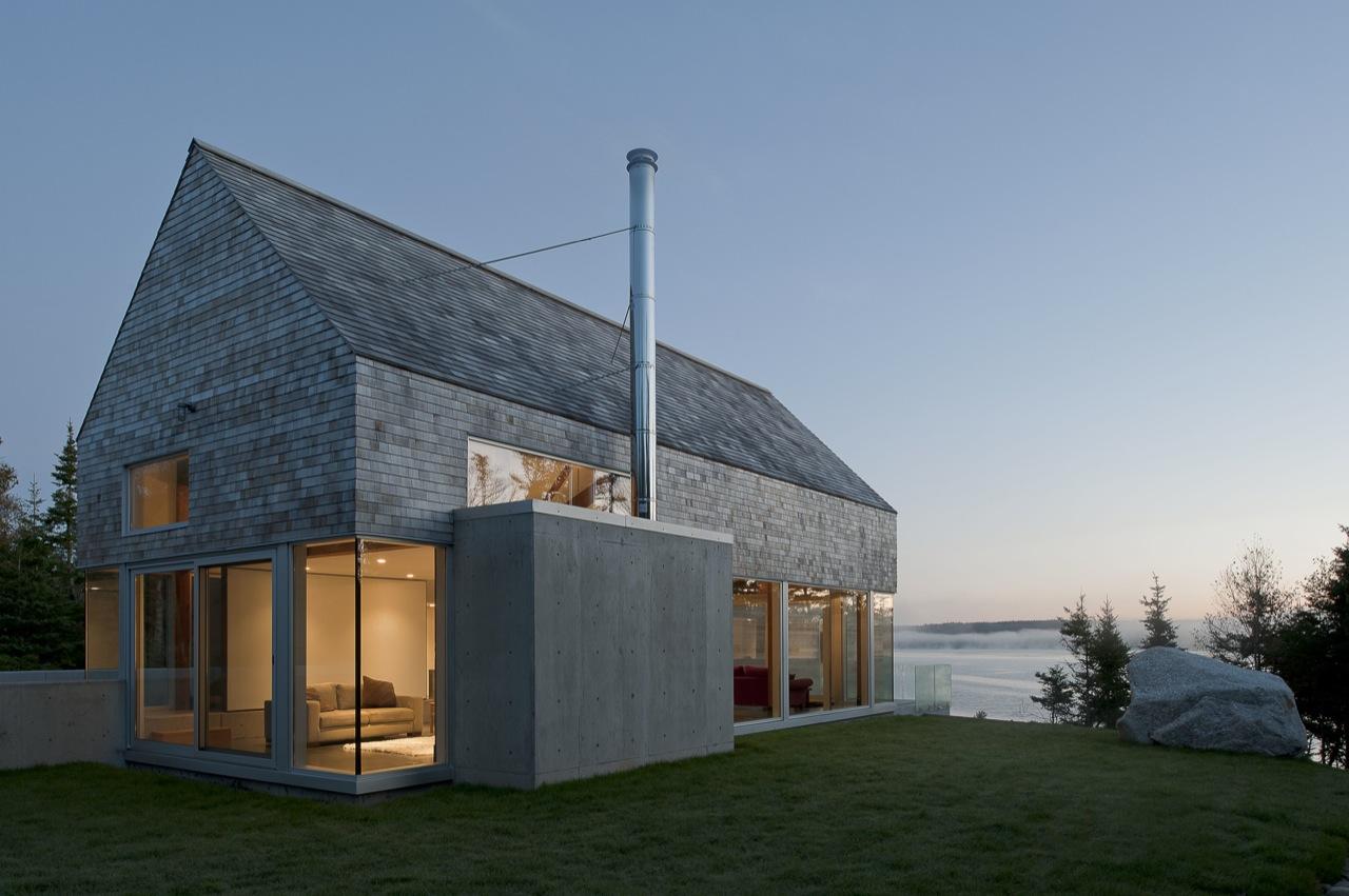 Glass Walls, Sea Views, House in Prospect, Nova Scotia