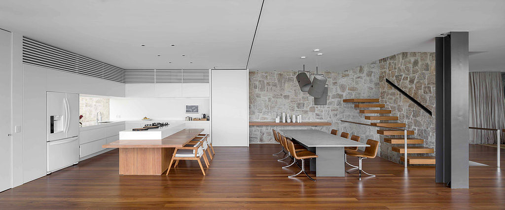 Kitchen, Dining Table, Stairs, Home in Rio de Janeiro