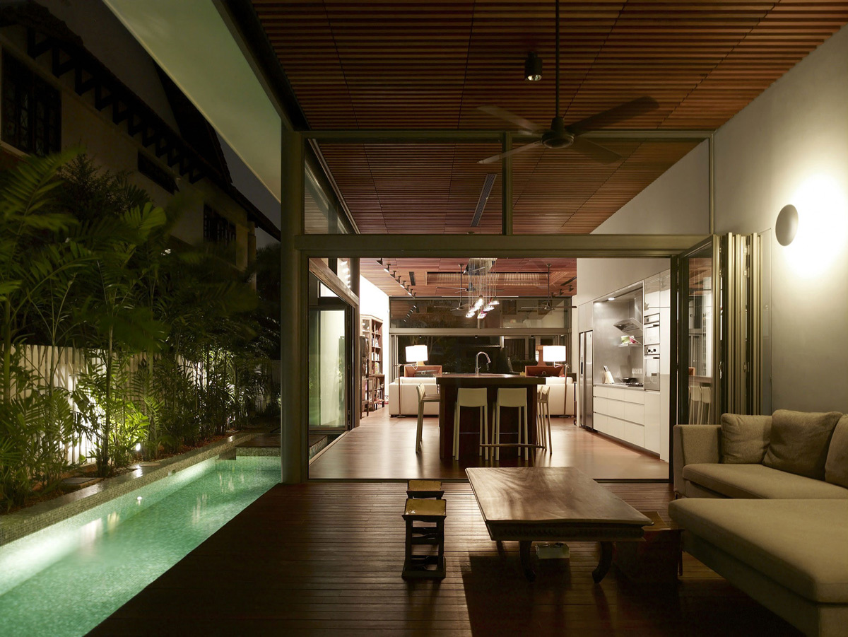 Lap Pool, Terrace, Deck, Outdoor Furniture, Modern Home, Singapore