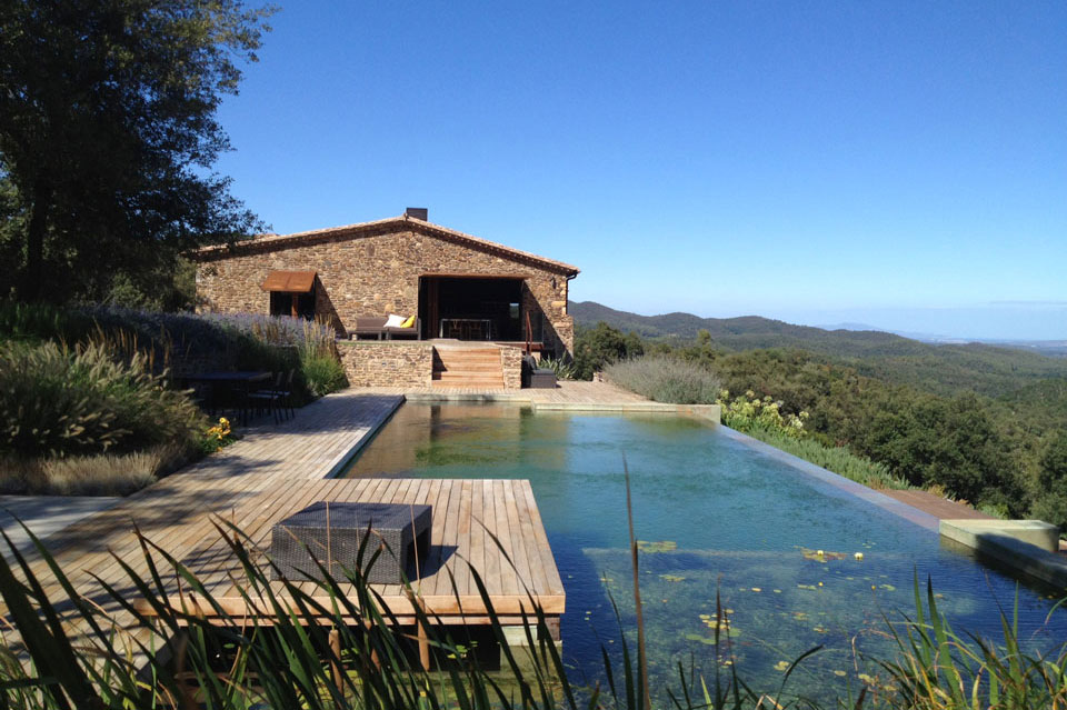 Natural Pool, Catalan Farmhouse, Girona, Spain