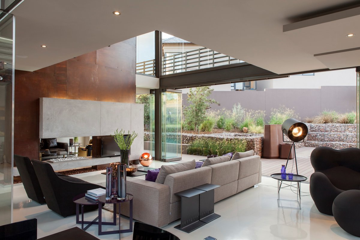 Open Living Space, House in Johannesburg