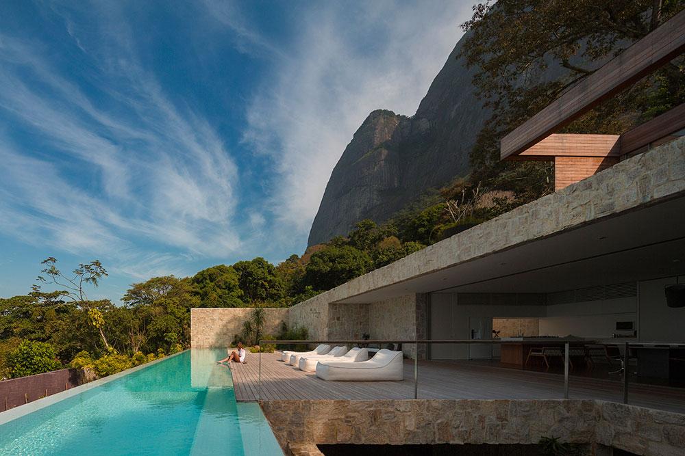 Pool, Terrace, Mountain Views, Home in Rio de Janeiro