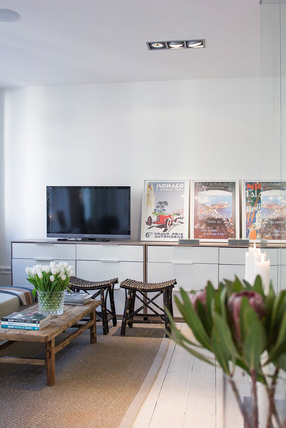 Posters, Living Room, Apartment in Östermalm, Stockholm