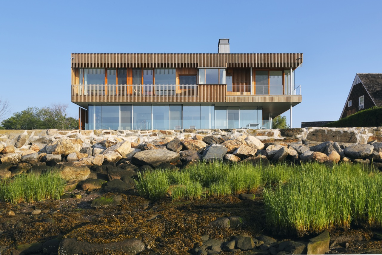 Shore View, Oceanfront Residence in Connecticut