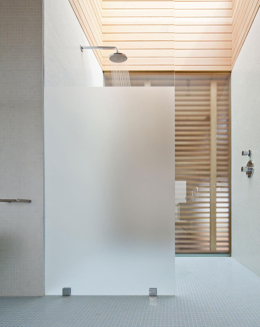 Shower, Glass Screen, Home in Edgartown, Massachusetts