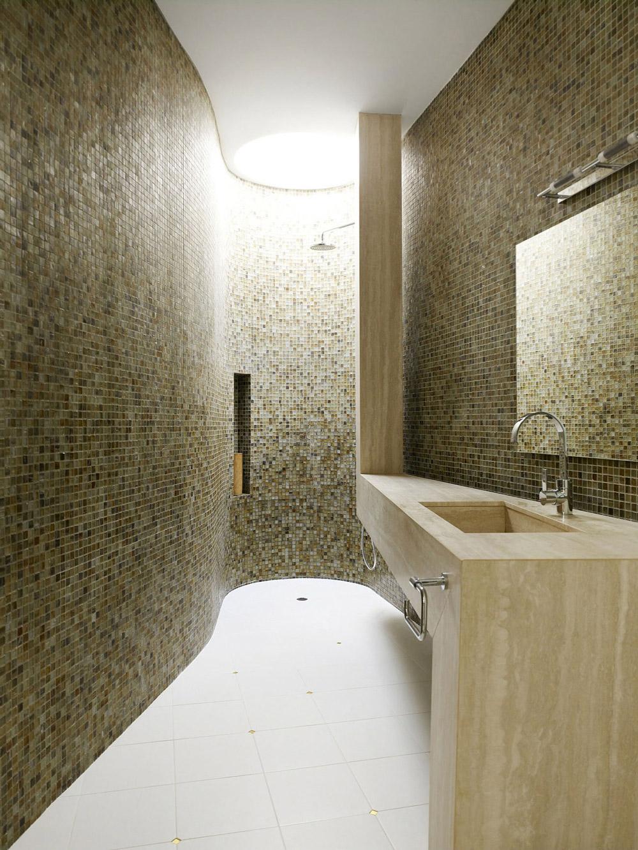 Shower Room, Marble Sink, Mirror, Modern Home, Singapore