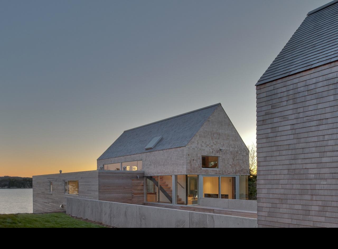 Side Facade, House in Prospect, Nova Scotia