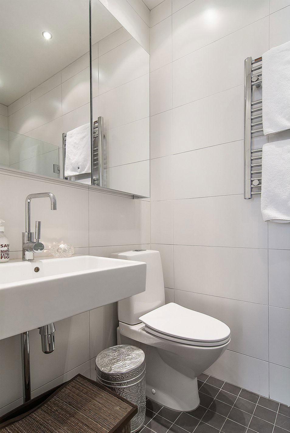 Sink, Bathroom, Apartment in Östermalm, Stockholm