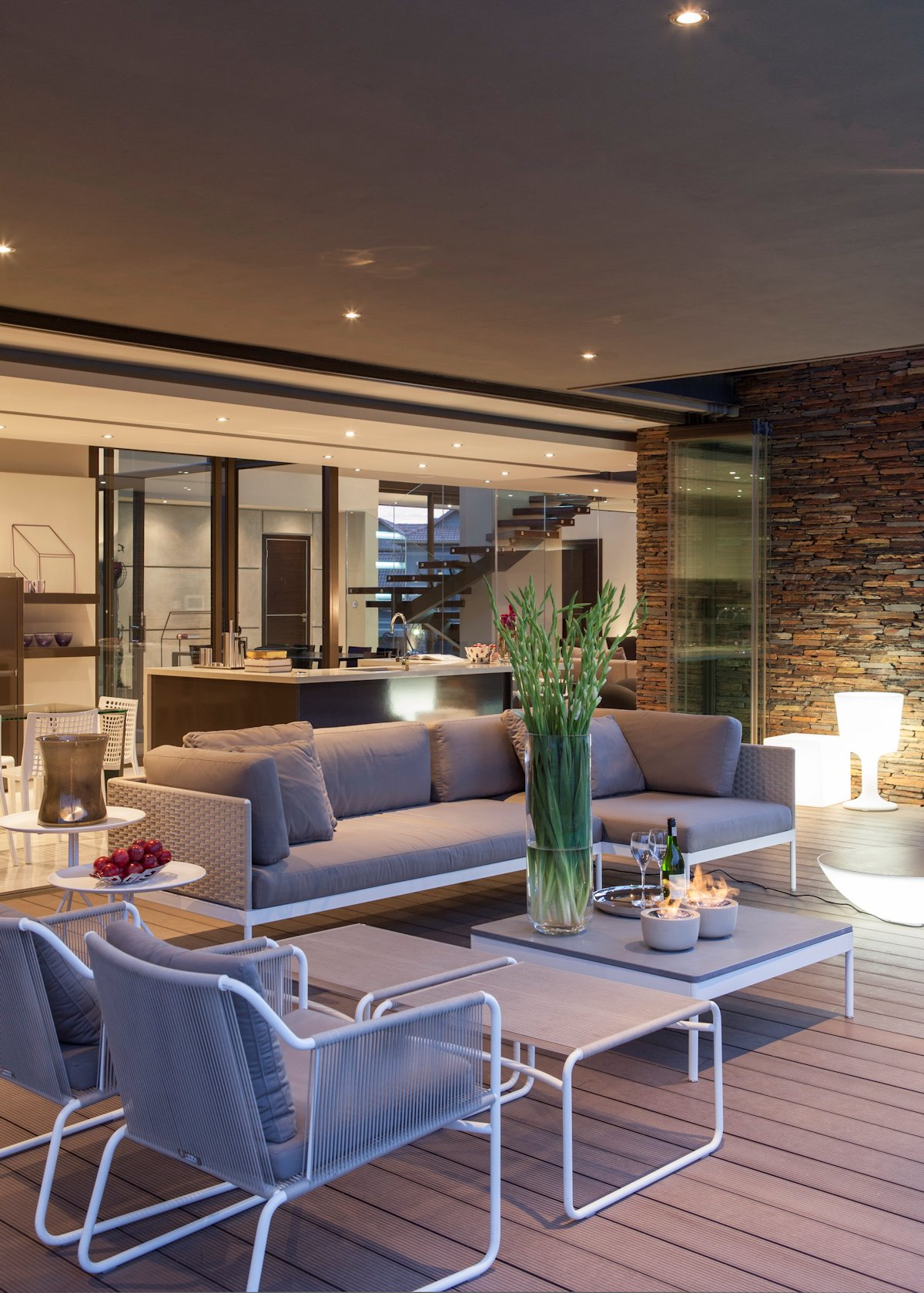 Terrace, Furniture, House in Johannesburg