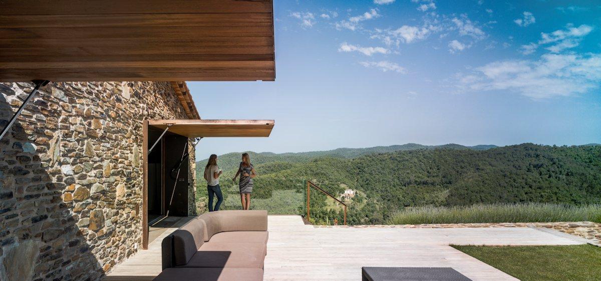 Terrace, Mountain Views, Catalan Farmhouse, Girona, Spain