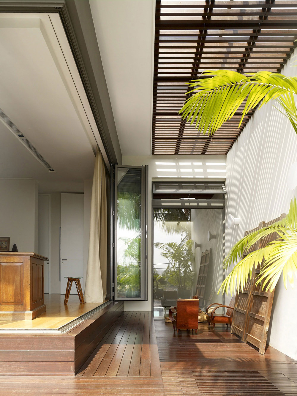 Terrace, Veranda, Modern Home, Singapore