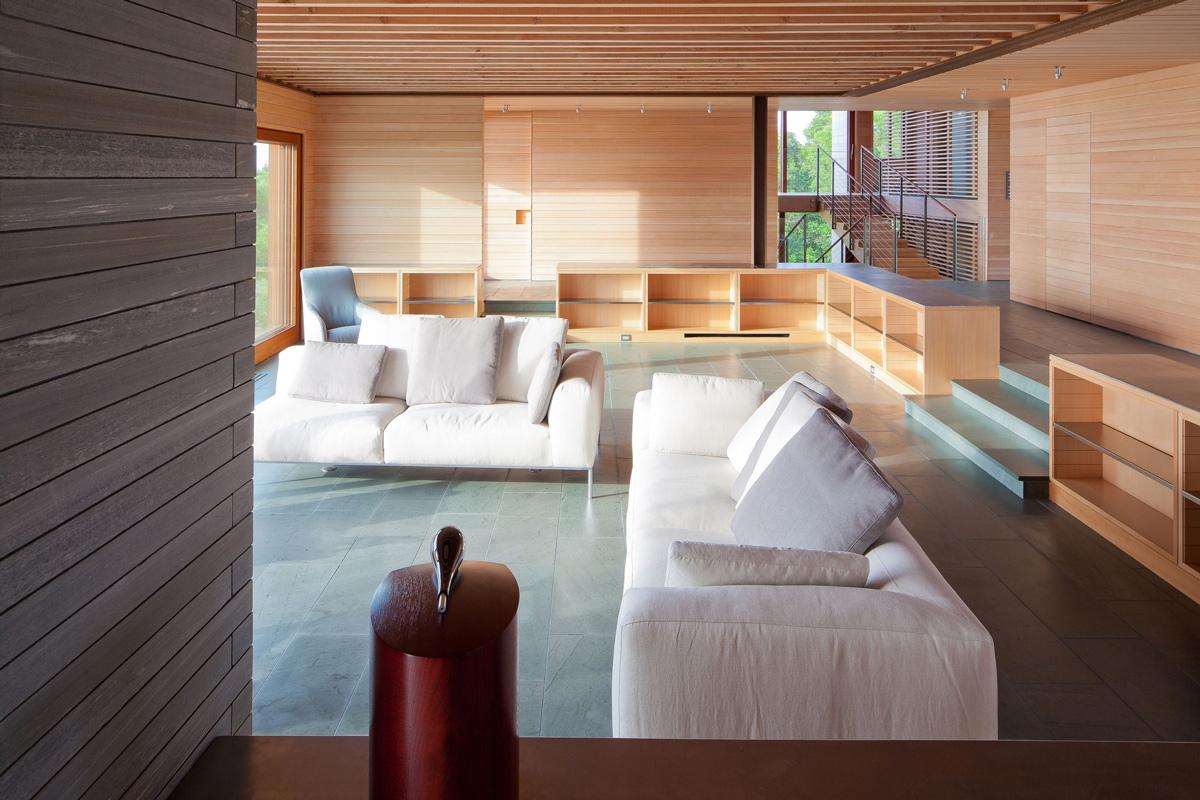 White Sofas, Living Room, Home in Edgartown, Massachusetts