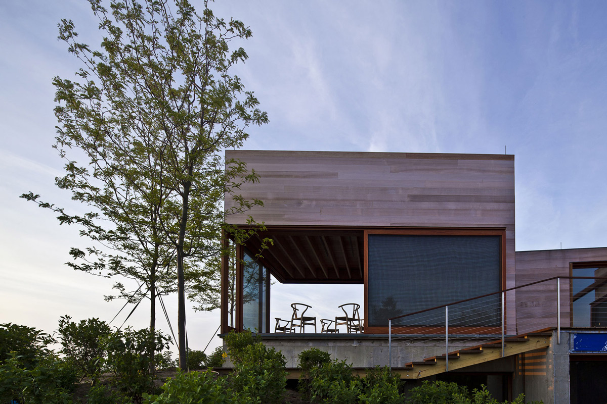 Wood Clad, Home in Edgartown, Massachusetts