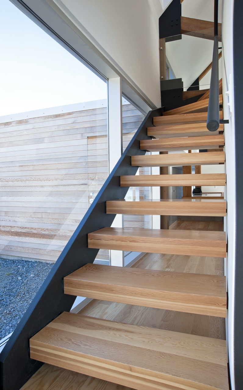 Stairs, House in Prospect, Nova Scotia