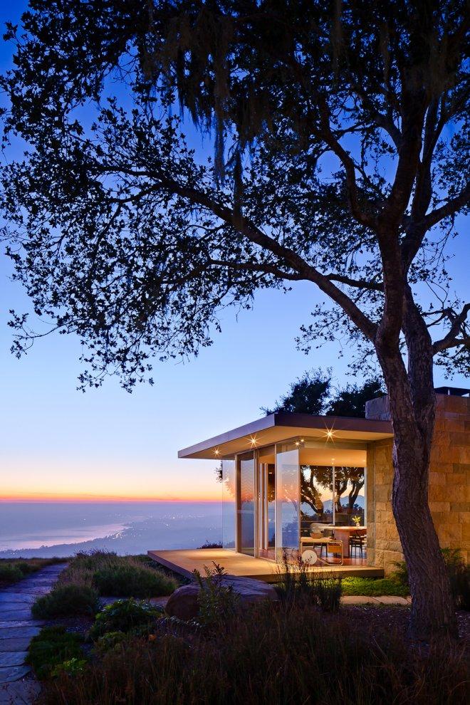 Amazing Views, Lighting, Glass Walls, Hilltop Home in Carpinteria, California
