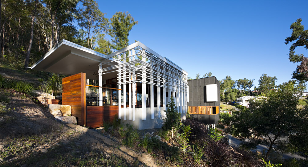 Architecture, Stonehawke House in Brisbane, Australia