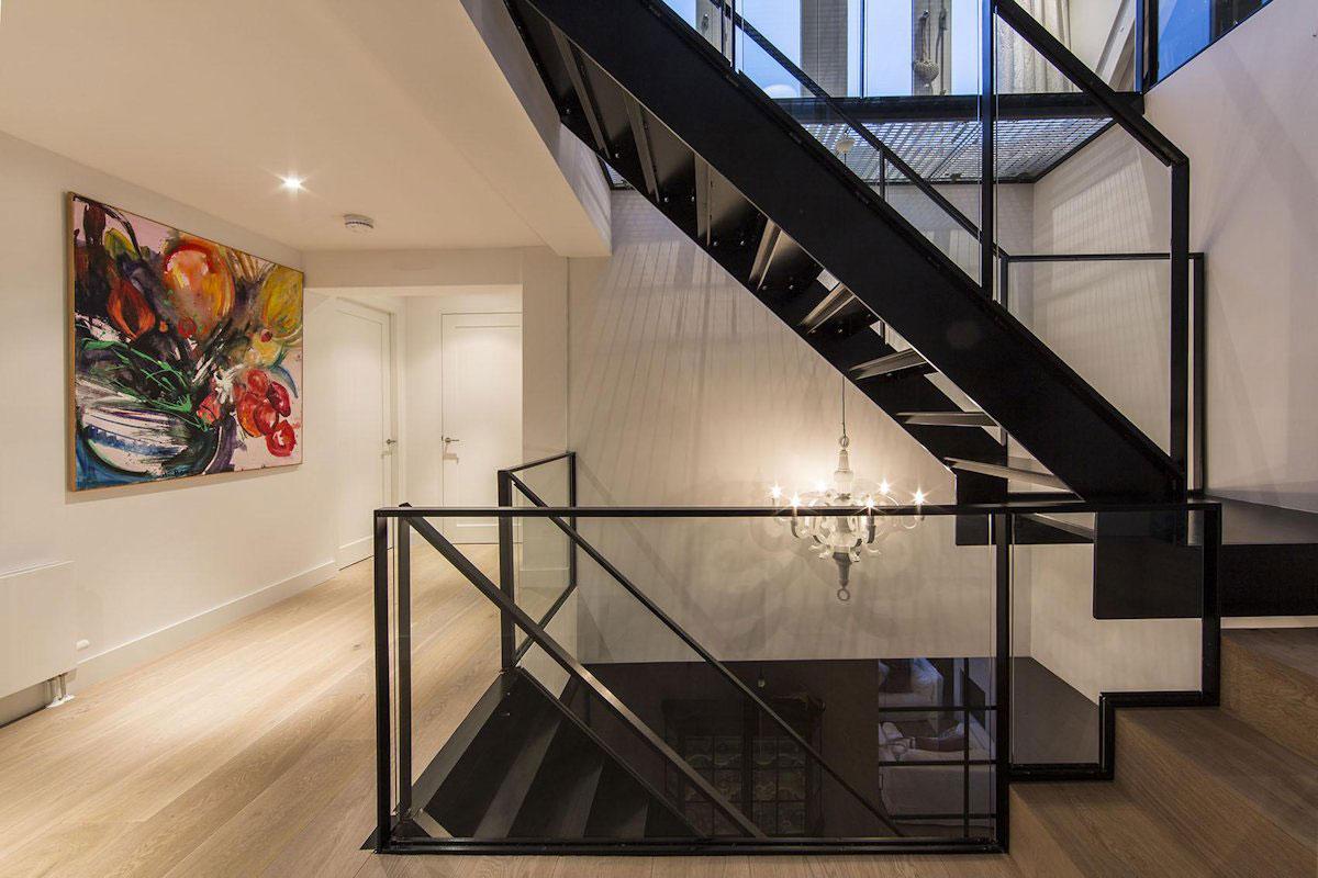 Art, Landing, Stairs, Apartment in Amsterdam