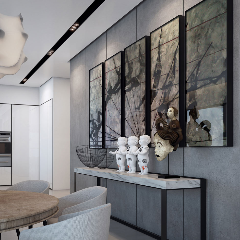 Art, Apartment in the W Boutique Tower, Tel Aviv