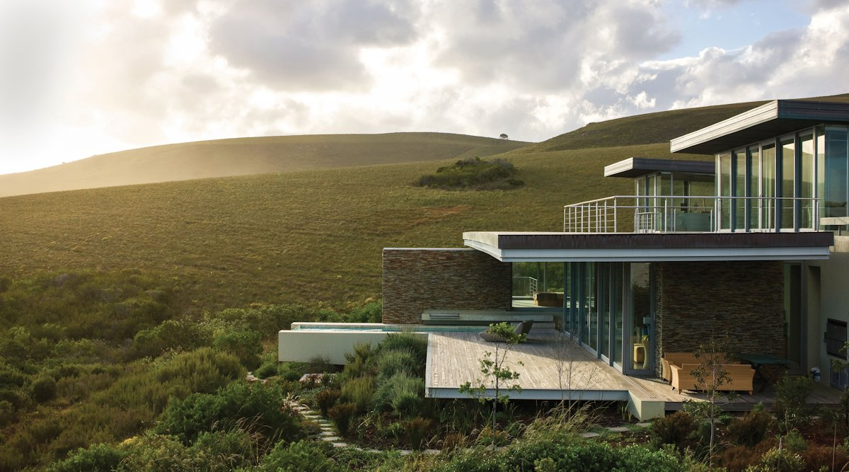 Balcony, Terrace, Cliff Top Home in Knyzna, South Africa