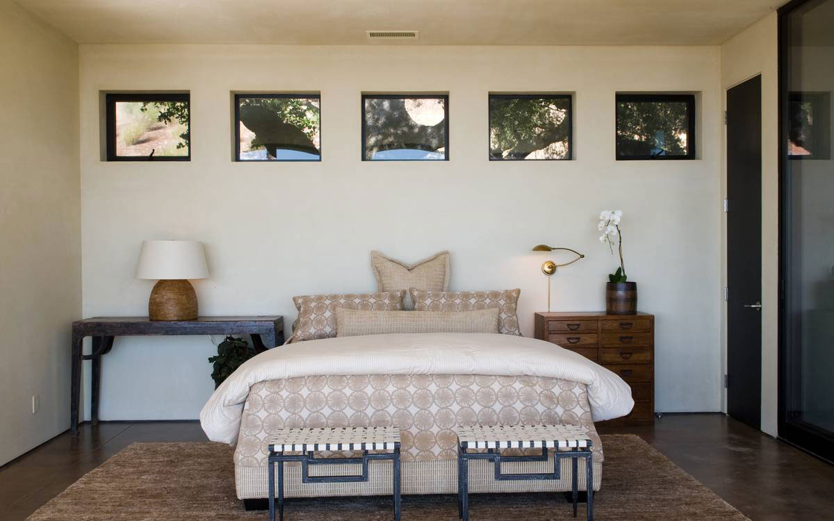Bedroom, Home in the Sonoma Valley, California