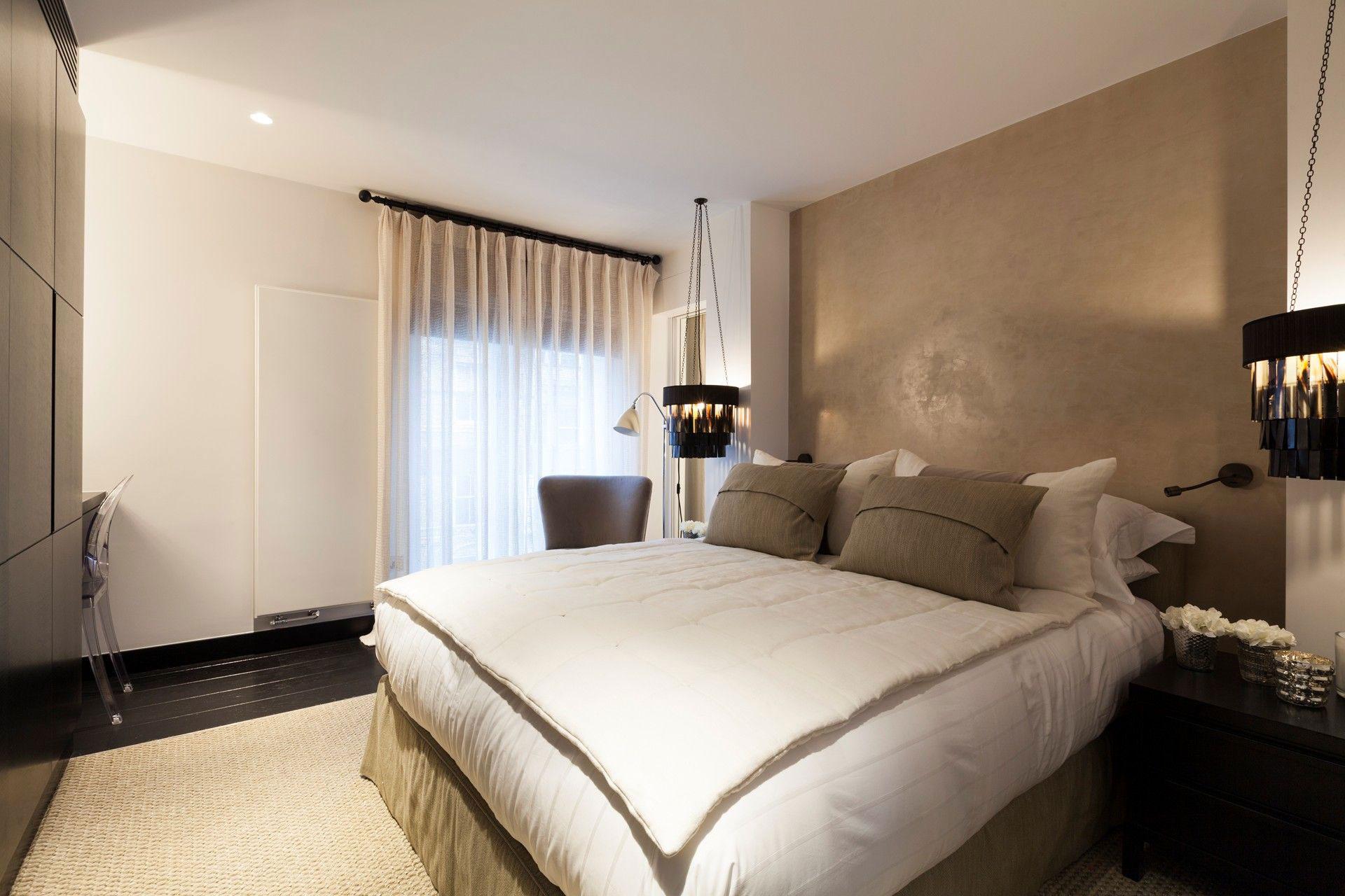 Bedroom, Lighting, Henrietta Street Apartment