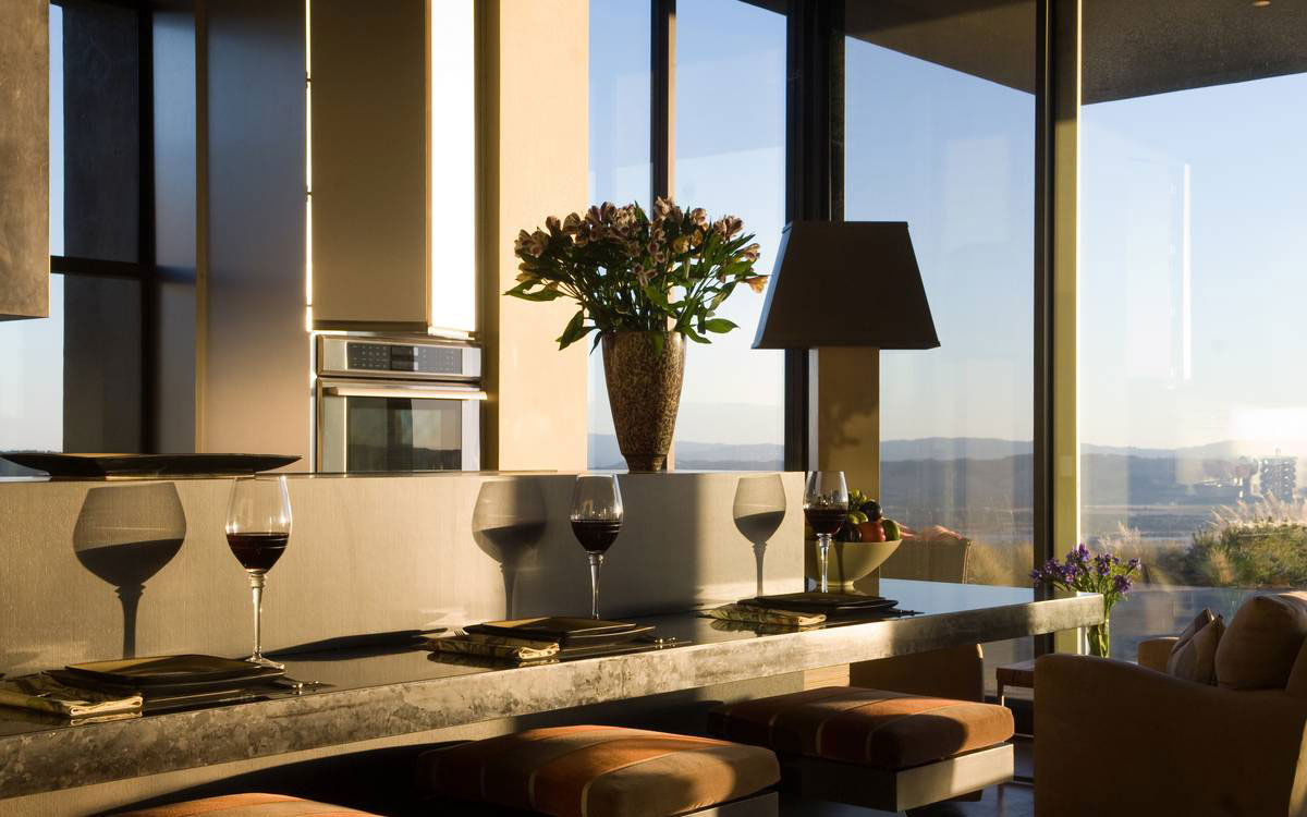 Breakfast Bar, Home in the Sonoma Valley, California