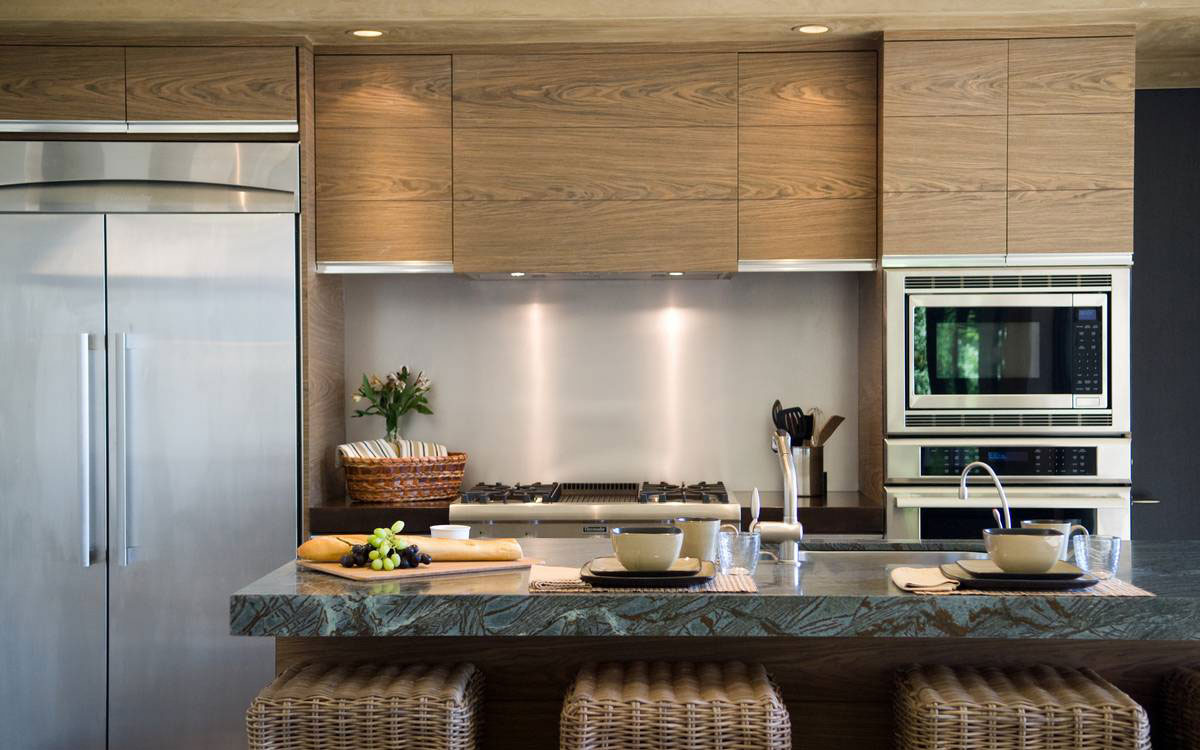 Breakfast Bar, Kitchen, Home in the Sonoma Valley, California