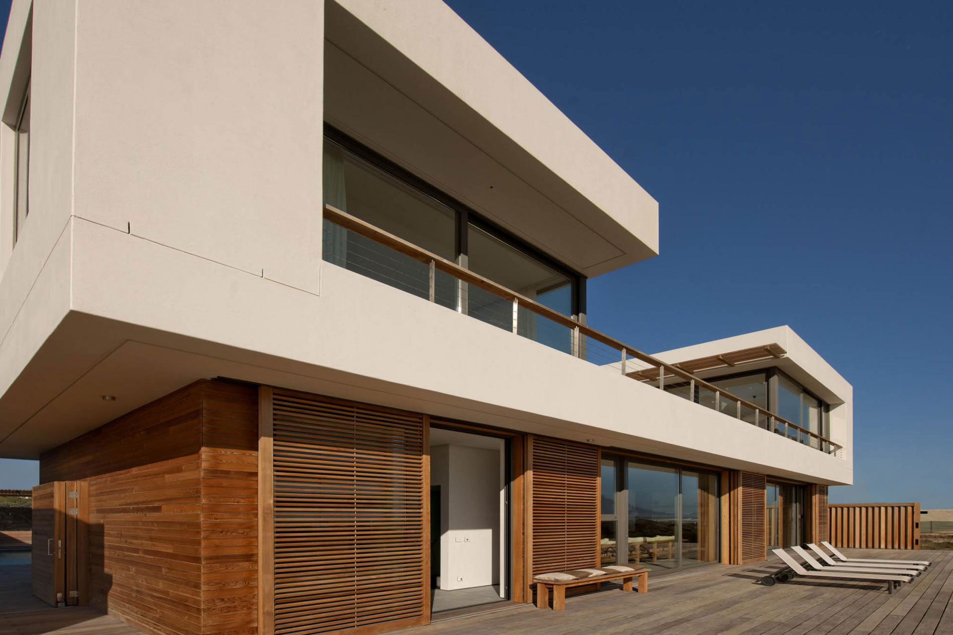 Deck, Terrace, Beach Front Home in Cape Town, South Africa