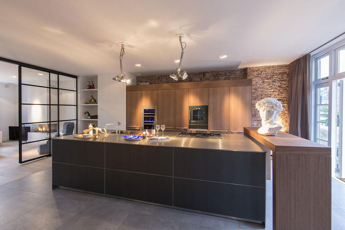 Elegant & Stylish Kitchen, Apartment in Amsterdam